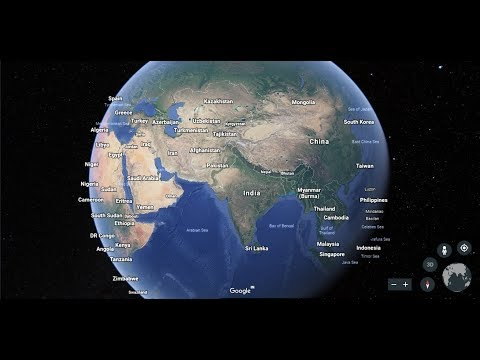 New Launched GOOGLE EARTH - How to Use Google Earth and Street View
