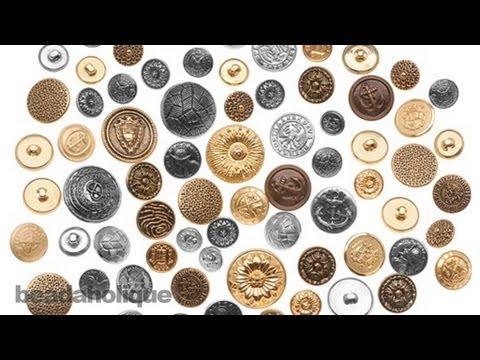 Product Spotlight: Vintage Metal Button Assortment