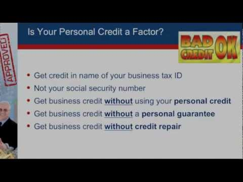 Business Loans for Bad Credit | 'Business Loans for Bad Credit Guaranteed' Video
