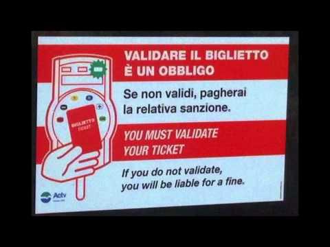 ACTV Venezia/Venice/Venise : Ticket validator/valideur.
