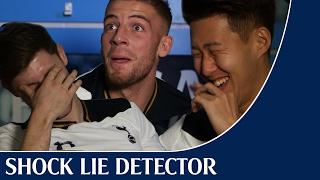 Shock Lie Detector   ft. Toby Alderweireld, Heung-Min Son and Ben Davies