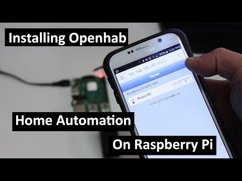 Installing OpenHab Home Automation On Raspberry Pi