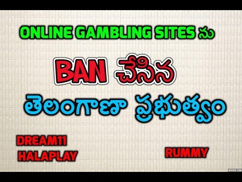 Telangana State Banned All Online Gambling Sites ( fantasy , Rummy , dream11 Etc ) - Gaming act