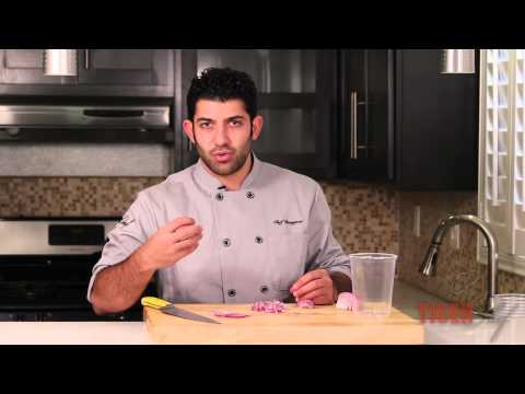 How to Eliminate Onion Odor by Chef Dangoor -- TigerChef