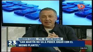 Roberto Sagra (CASM): este partido no se definió en la cancha