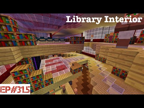 Building A City   #31.5   Library Interior 📚