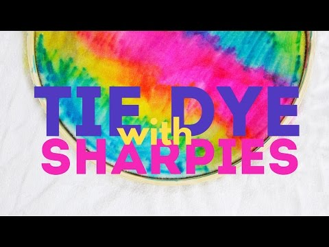 How to Tie Dye with Sharpies | CREATIVE BASICS Episode 8
