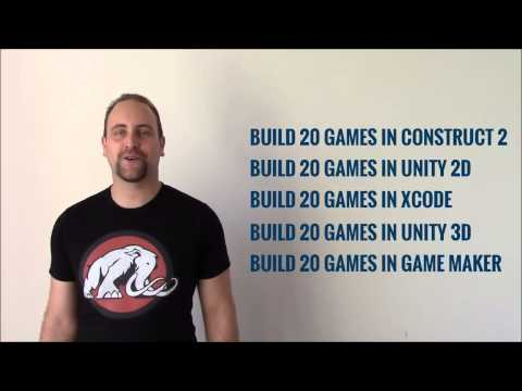Learn Game Development by Building 100 Games. - KickStarter funded in less than an hour!