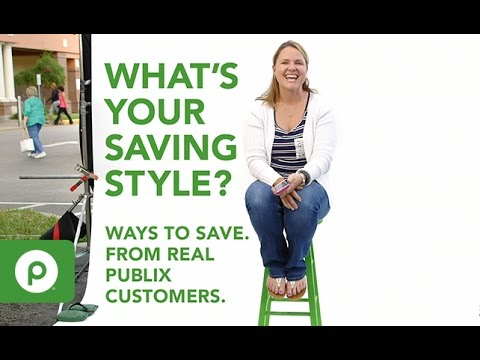 Saving that's just your style at Publix.
