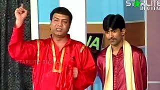 Best Of Asif Iqbal and Sajan Abbas New Pakistani Stage Drama Full Comedy Clip