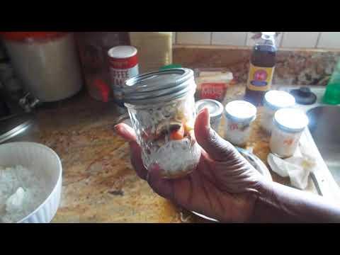 Ramen Mason Jar Noodles