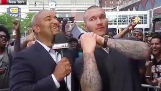 Randy Orton Discusses Batman vs Superman and Donald Trump RKO
