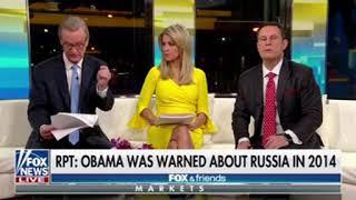 Donald Trump Thanked Fox & Friends For This Dishonest Description Of His Behavior Toward Russia