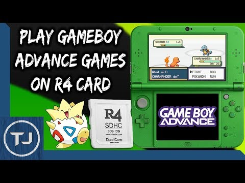 Play GameBoy Advance ROM's Off Any R4 Card! (GBAEMU4ds)
