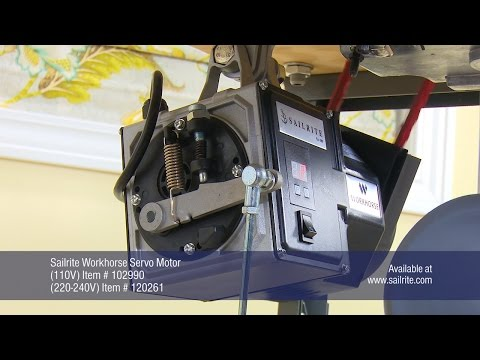 Replacing Sewing Machine Clutch Motor with Workhorse Servo Motor