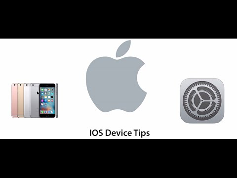 IOS device tips #002 - Basic email settings on an iPhone