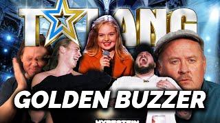 REAGERAR PÅ TALANG 2020: GULLIGASTE GOLDEN BUZZER ft. KARAKTÄRER