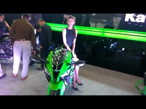 Kawasaki at Auto Expo 2018