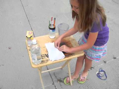 Vinegar and Baking Soda Bottle Rocket Project