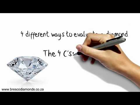 Diamonds - The 4 C's Explained