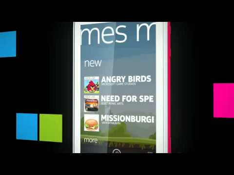 Marketplace and Games -- Nokia Lumia 710