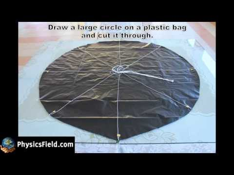 How to make a parachute for Egg Drop Competition