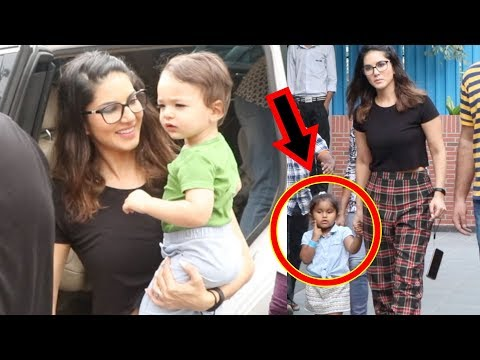 Xxx Mp4 Sunny Leone CUTE Moment With Nisha Kaur Weber And Two Sons Spotted In Playschool 3gp Sex