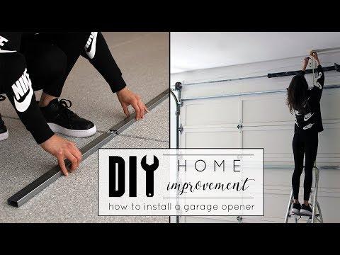 DIY Home Maintenance | How to Install a Garage Door Opener
