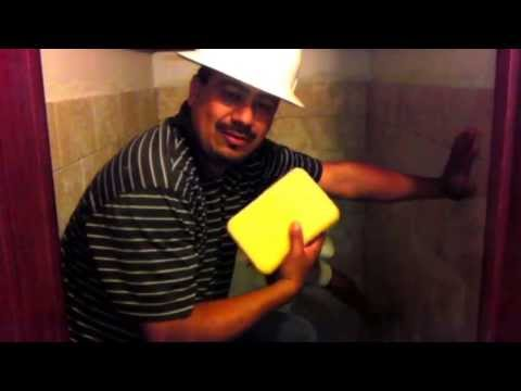 How to clean tile before grout