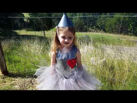 DIY Wizard of Oz Tin Man Costume for Girls