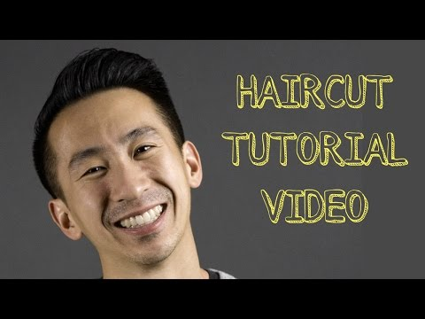 How to cut Short Asian Mens Hair