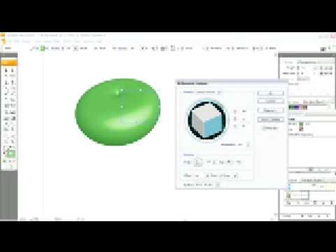 Illustrator CS3 tutorial Applying the 3D Revolve Effect