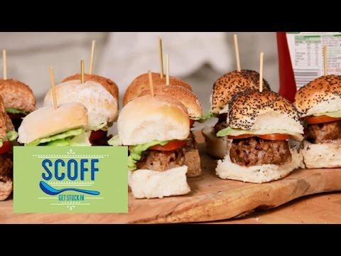 Kid-Friendly Mini Burgers | Cooking For Kids