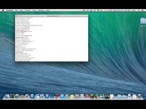 How to Access Server.Properties On a Mac