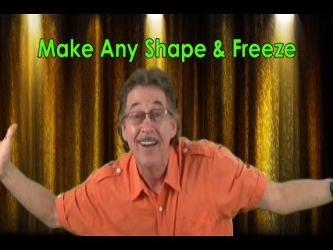 Freeze Dance | Freeze Dance Song | Make Any Shape & Freeze | Jack Hartmann