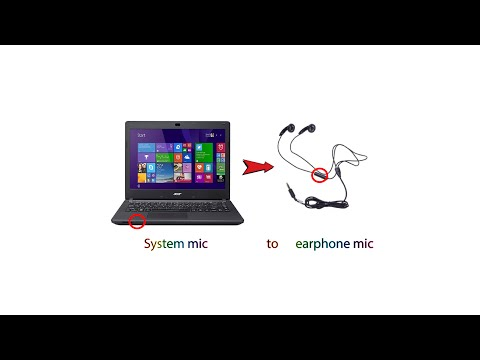 Enabling headset or earphone microphone on windows 7, 8, 8.1, and 10