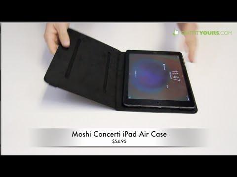 Moshi Concerti iPad Air Case Review