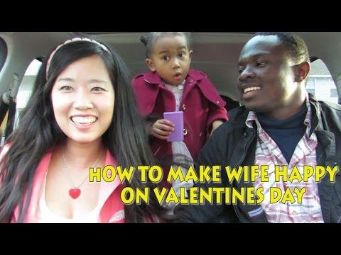 HOW TO MAKE WIFE HAPPY! |아내를 행복하게해주는 방법 LilJamOlympics DAY 2 FAIL (2016 vlog ep.41)발렌타인데이(국제커플)