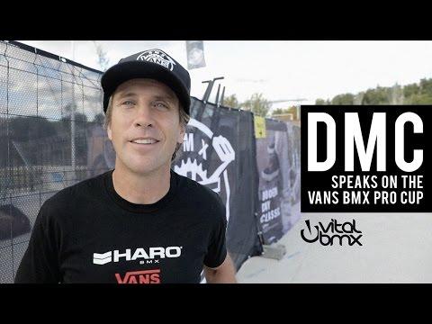 Dennis McCoy Speaks on the Vans BMX Pro Cup