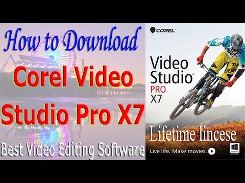 How to Download Corel VideoStudio Pro X7 Best Video Editing Software #Azmol Photoshop
