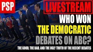 Democratic Debates Night 3 First Impressions, Who Won?   Stream Highlight