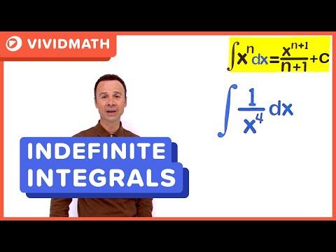 01 Simple Indefinite Integrals 02 - VividMaths.com