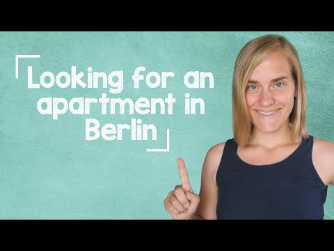 German Lesson (145) - Jenny is looking for an apartment in Berlin - Vocab & Listening - A2/B1