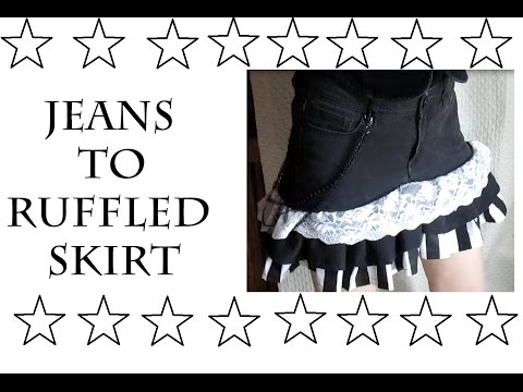 Jeans to Ruffled Skirts