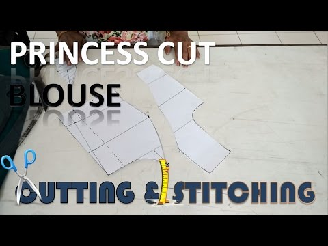 Princess Cut Blouse | How To Sewing Tutorial | Diy