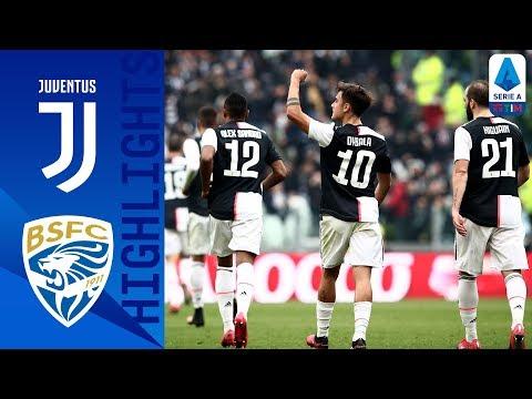 Juventus 2-0 Brescia   Dybala and Cuadrado Score to Beat Brescia as CR7 Rested   Serie A TIM