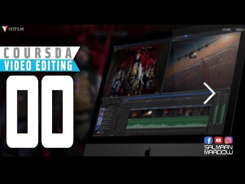 Darsiga (00)  ee coursada Video Editing ee Barnamijka HitFilm Express
