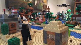 MOC Lego Minecraft : La mort de