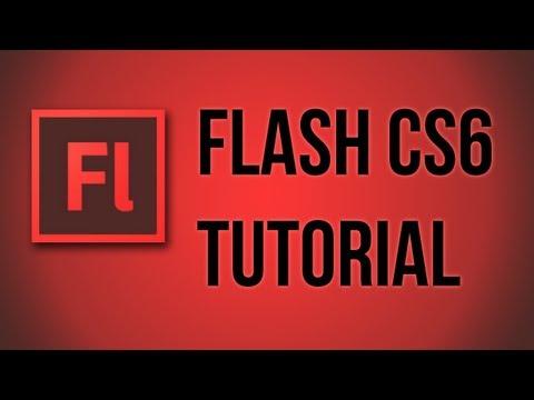 Flash CS6 - Basic Animation Story - Full Rotation and Multiple Layers
