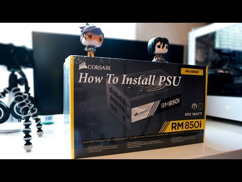 How to Install a Power Supply in Computer